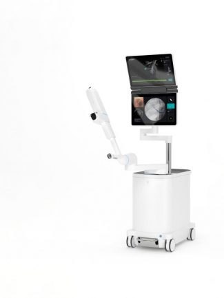Ion's robotic-assisted platform allows for a minimally invasive biopsy of the lung. - INTUITIVE SURGICAL