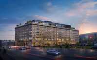 Rendering for Ironside Newark. - EDISON PROPERTIES