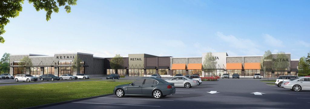 Ulta is the latest national tenant signed for The Park at Hamburg, now under construction in Wayne.  - R.J. BRUNELLI
