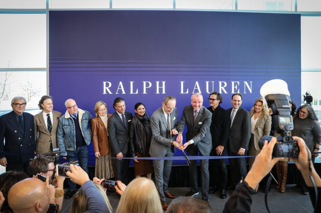 Gov. Phil Murphy attends the ribbon-cutting ceremony for Ralph Lauren at the ON3 building in Nutley on Dec. 18, 2019. - EDWIN J. TORRES/GOVERNOR'S OFFICE