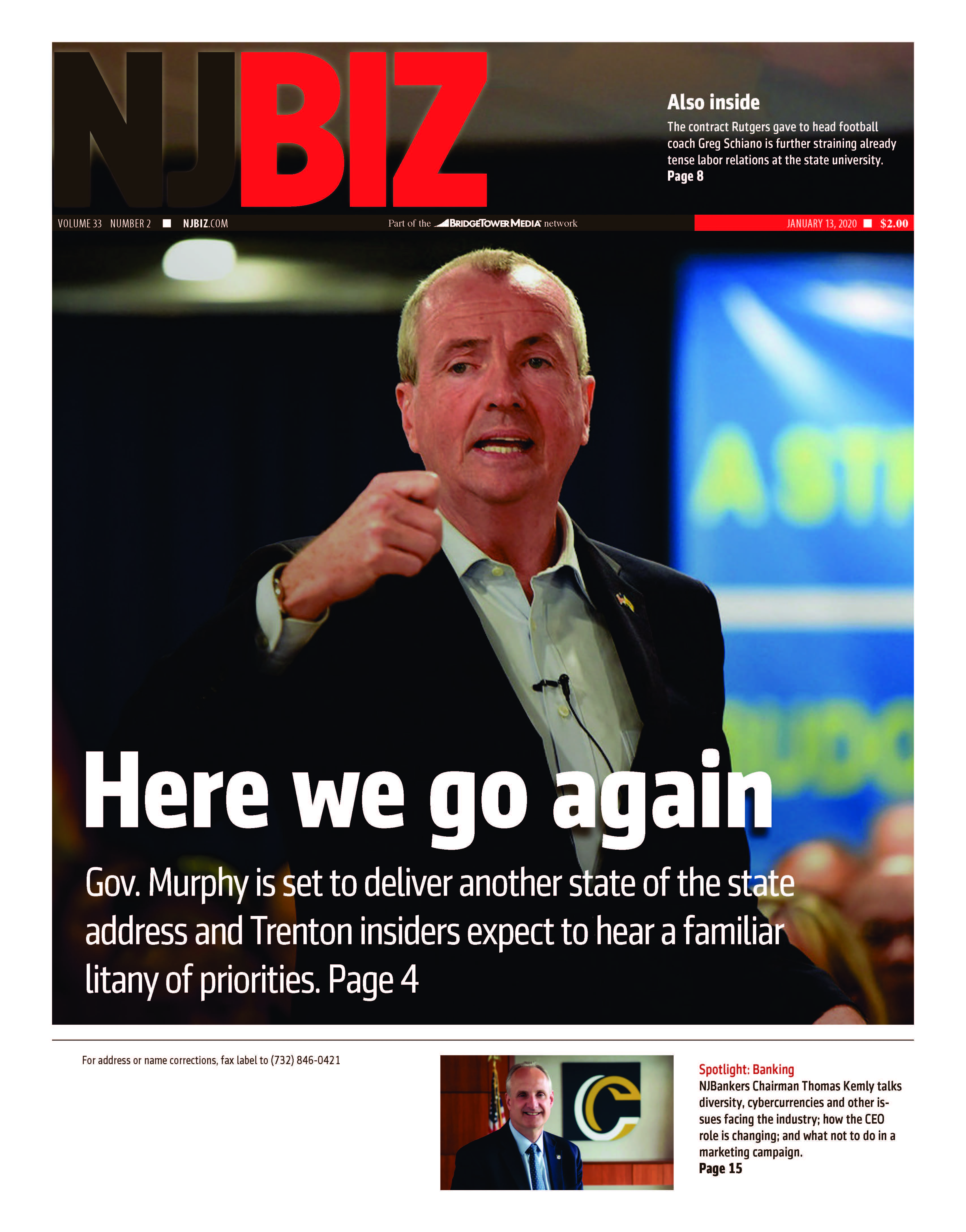 Jan. 13, 2020 Edition of NJBIZ
