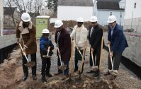 Ground breaking for affordable housing at 400-402 Avon Ave. in Newark's South Ward on Jan. 14, 2020.- CITY OF NEWARK