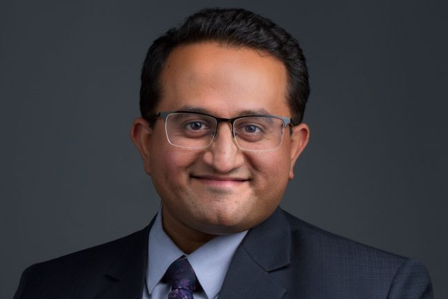 Sid Vaidya, vice president and commercial and industrial relationship manger, Spencer Savings Bank.