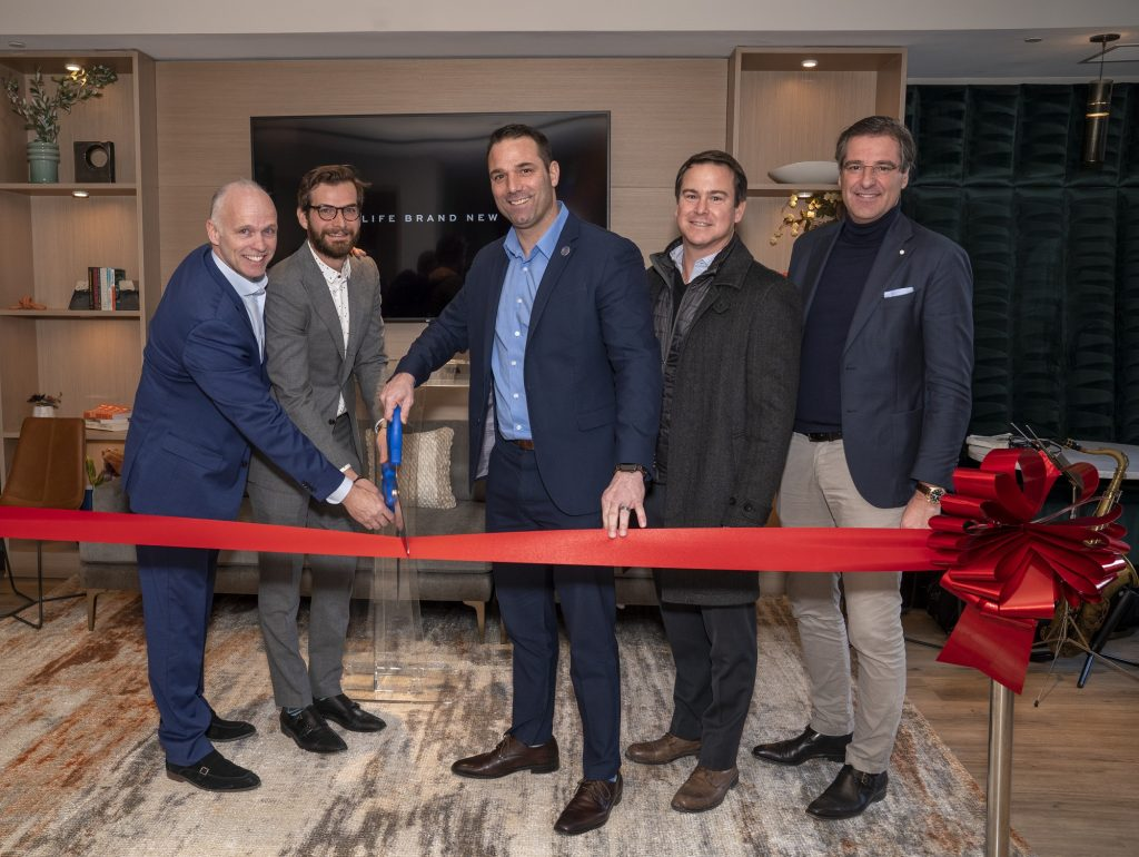The Mint Ribbon Cutting, Jan. 17, 2020.  - CAHN COMMUNICATIONS