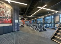 The Union Club offers a fully-equipped fitness center.