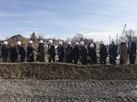 New Jersey Housing and Mortgage Finance Agency's (NJHMFA) executive staff broke ground in Camden on the new site for 58 affordable apartments for seniors at The Branches at Centerville on Feb. 12, 2020. - NJHMFA