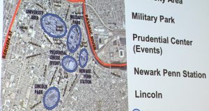 Newark Regional Business Partnership's Insiders Forum Imagining the Future of Transportation for Downtown Newark at the offices of Public Service Electric & Gas on Feb. 14, 2020.