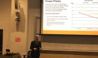 PSEG Chief Executive Officer Ralph Izzo speaks at NJIT on Feb. 12, 2020.