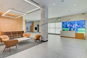 1776 On the Green, lobby, in Morristown. - VISION REAL ESTATE