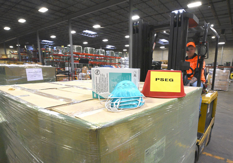 Public Service Enterprise Groupsaid it would donate more than 50,000 N95 respirator masks to one of the state's largest health care systems. - PSEG