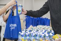 In anticipation of the impact of COVID-19, on March 16 Jersey City-based Goya Foods announced it donated 18,225 meals to students of six New York City high schools. Each student received a bag filled with a 5-pound bag of Goya rice, a 1-pound bag of Goya black beans, a 1-pound bag of Goya pink beans and two 16.9-ounce containers of Goya coconut water. The first donation was made by Goya executives at the Food and Finance High School on March 13, with the remainder distributed over the next week.