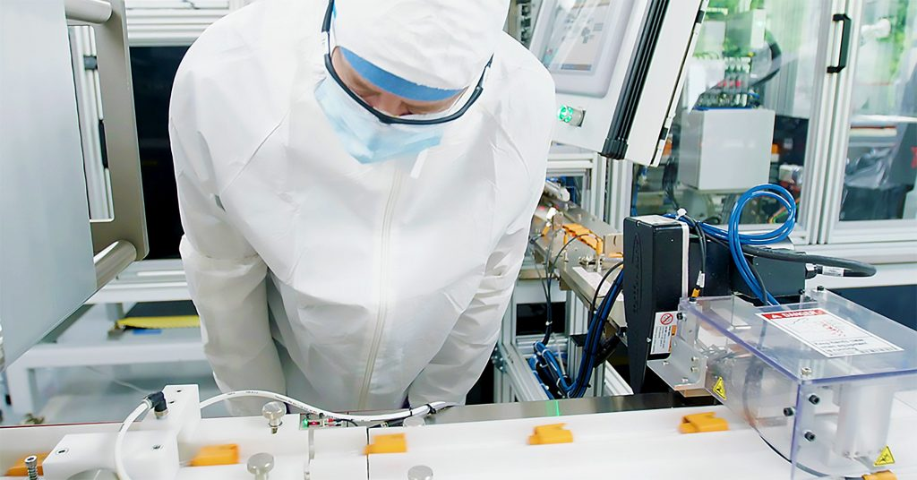 ID NOW test components being made in Abbott's U.S. manufacturing facility