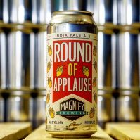 Magnify Brewing created Round of Applause to celebrate essential COVID-19 workers.