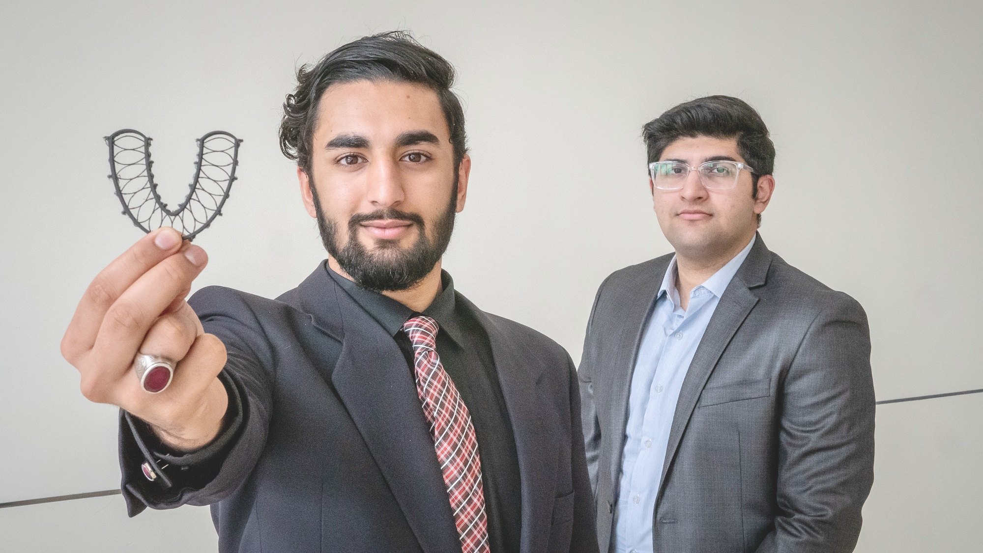 Zaki Tahir and his Dr. Floss partner, Hassan Kashif, took home a firstplace win in the annual Startup Montclair Pitch Competition at Montclair State University's Feliciano Center for Entrepreneurship & Innovation.