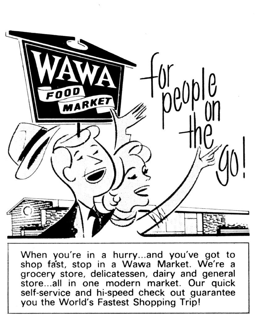 Wawa celebrated its 50th anniversary in 2014 by giving away more than 1 million cups of coffee to customers.