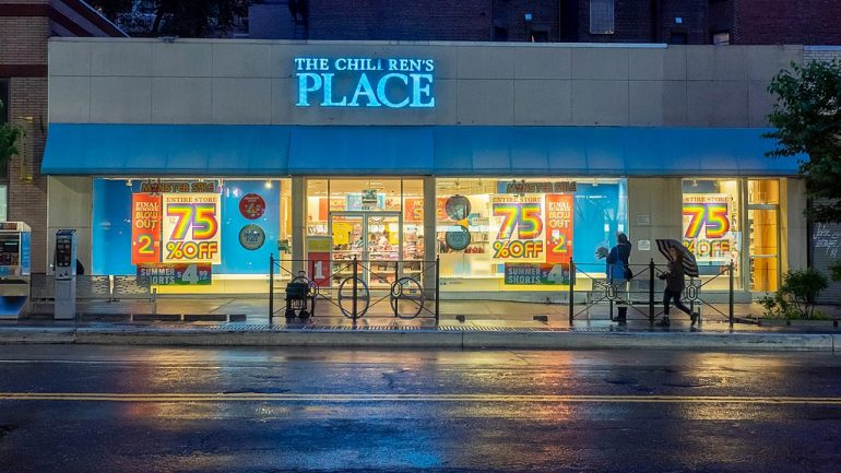 The Children's Place, Upper East Side, New York City.