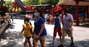 Masks will be required for patrons over 2 years of age when Six Flags Great Adventure reopens in July.