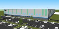 Architectural rendering of Comar's new facility in Vineland. - PRNEWSWIRE
