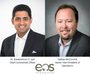 r. Balakrishnan Iyer (Balki) has been named chief commercial officer and Nathan McCormick joins the company as senior vice president of operations.