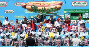 Nathan's Hot Dog Eating Contest.
