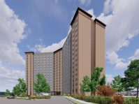 Norman Towers senior apartments in East Orange. - INGLESE ARCHITECTURE AND ENGINEERING