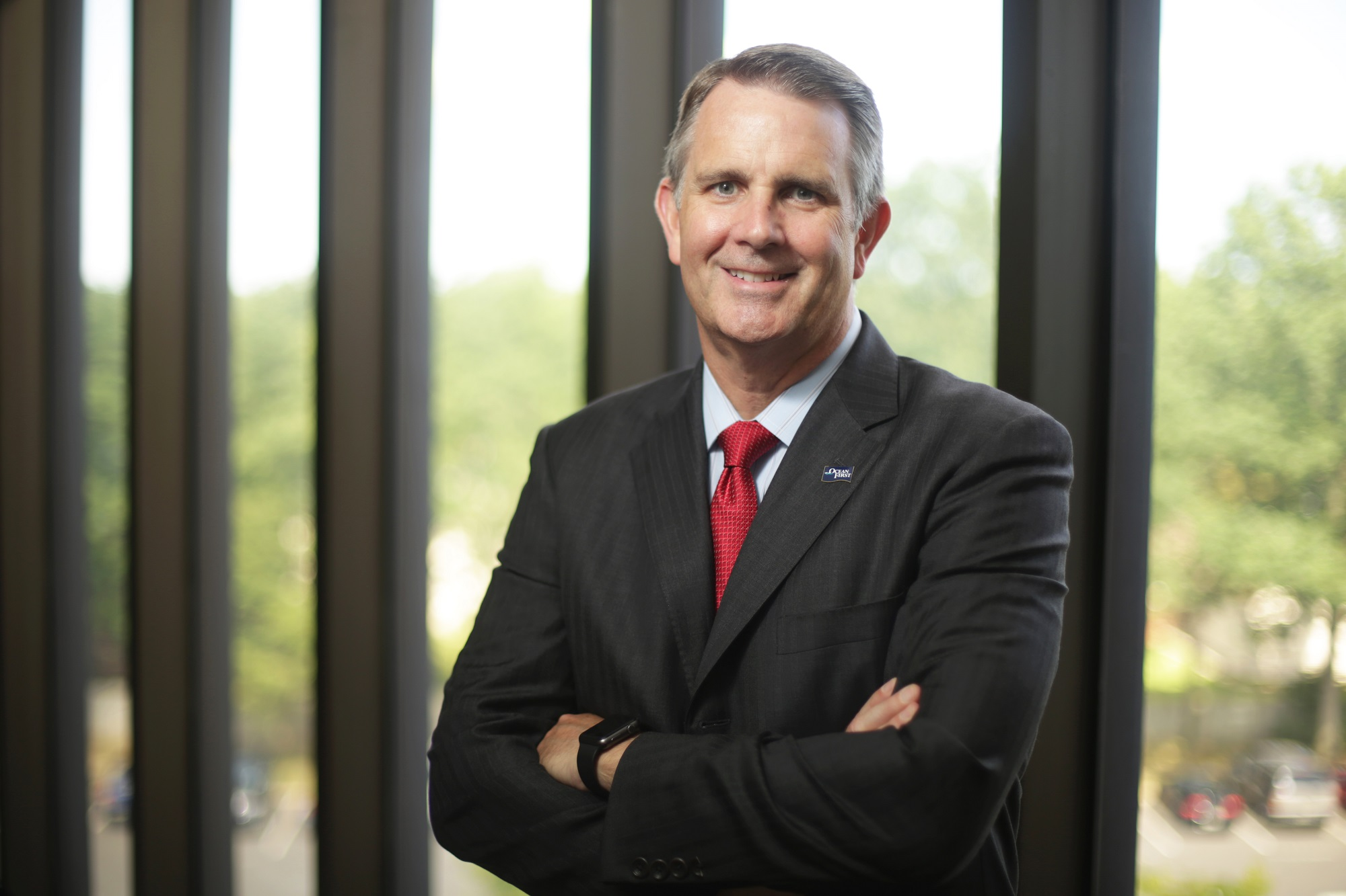 Christopher Maher, president and CEO, OceanFirst Bank.