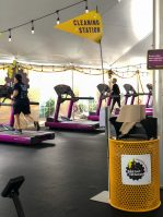 Planet Fitness opened its outdoor facility in Haddon Township on Aug. 14, 2020.