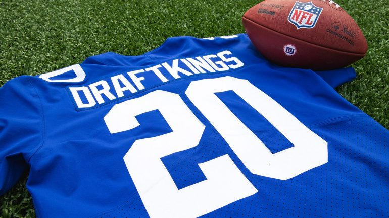 DraftKings was named the official sports betting iGaming and daily fantasy operator of the New York Giants.
