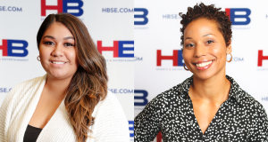 Janelle Vizzi, director of human resources for New Jersey Devils and Prudential Center, and Natasha Moody, senior vice president of business operations for the New Jersey Devils and Prudential Center, were both promoted within Harris Blitzer Sports & Entertainment in September 2020.