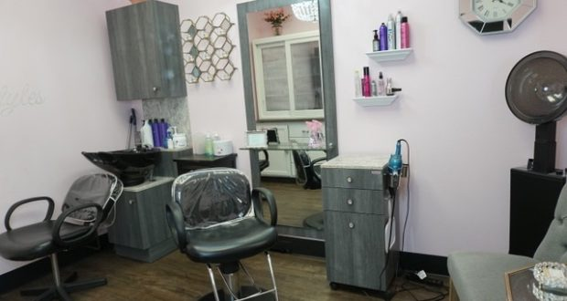 Each JC Salon concept stores is social distance ready. This is the interior of the Wyckoff location. - GIBRANNA LACAVA