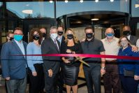 Bay One Luxury Apartments celebrates its grand opening with a ribbon cutting ceremony on Oct. 8, 2020. - SYLENSE LABIT PHOTOGRAPHY