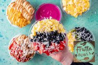 Frutta Bowls offers customizable acai and pitaya bowls and smoothies, along with other healthy snacks.