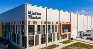 Misfits Market now occupies the full building at 1000 Coopertown Road in Delanco. - STANKER & GALETTO