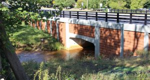 The Colts Neck traffice project included the replacement of a Route 537 bridge and the replacement of a Route 34 bridge and the installation of bio-retention basins. - T&M ASSOCIATES