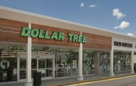 Dollar Tree at Rutgers Plaza in Franklin Township.