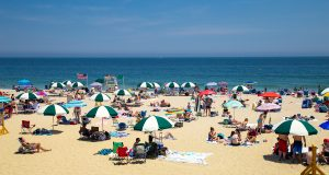 Long Branch beach, Monmouth County. - MICHAEL COLARUSSO