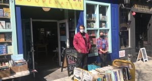 Liza Minno and Michael Newton, owners of the Asbury Book Cooperative. - BRETT KIMMONS