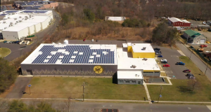 Flying Fish Brewing Co. in Somerdale's solar array partially powers its brewing process.