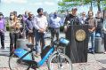 """""""We have worked to significantly expand our transportation infrastructure in a way that creates more affordable mobility options, closes transit gaps, increases access to jobs and education, improves connectivity, among countless other opportunities,"""" said Jersey City Mayor Steven Fulop, pictured at the podium for the May 17, 2021, launch of Jersey City and Hoboken's unified bikeshare program. """"Expanding our already successful Citi Bike program will not only provide integration with Hoboken for the first time, but Jersey City will also add two stations in Greenville within the first 60 days based on community feedback."""" - JENNIFER BROWN PHOTOGRAPHY"""