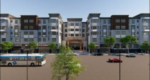 Linden Station rendering. - MADISON REALTY CAPITAL