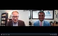 Dr. Shereef Elnahal, the president and CEO of University Hospital in Newark, speaks with NJBIZ Editor Jeff Kanige on May 26, 2021.