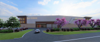 Rendering for Quinlan Development self-storage project at 16-09 and 16-17 Route 208 in Fair Lawn.