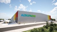 Rendering of the AeroFarms facility in Abu Dhabi, expected to be completed in 2022.
