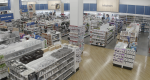 Bed Bath & Beyond's updated interior as the company introduces its new owned brands.