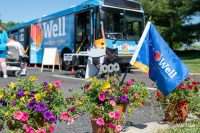 The Mobile Grocery Store's milestone event took place at Doreatha D. Campbell Senior Housing in Willingboro, where the traveling supermarket stops every Tuesday morning.