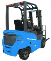 Greenland Technologies Holding Corp.'s lithium battery forklift.
