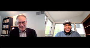 Calvin Quallis, the founder and CEO of Scotch Porter, speaks with NJBIZ Editor Jeff Kanige on June 3, 2021.