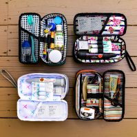 Luxury dopp kit from Stealth Bros & Co.