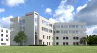 Rendering of $75 million AtlantiCare Regional Medical Center Meadow Pavilion expansion. The project will add two floors and 50 private rooms to the existing structure.