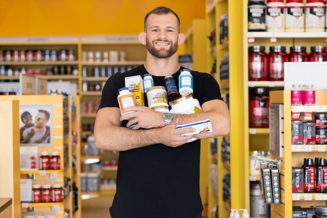 The Vitamin Shoppe signed a sponsorship agreement with wrestler David Taylor, the 2018 World Champion in his weight class and an advocate for healthy living.
